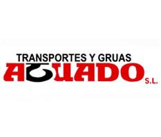 TRANSPORTES Y GRUAS AGUADO. ALQUILER DE MAQUINARIA INDUTRIAL